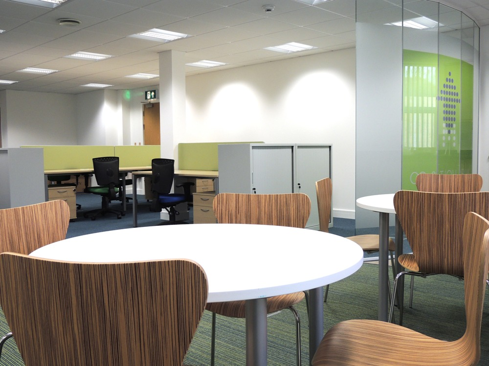 office interiors plymouth, office interiors exeter, office interiors devon, office refurbishment plymouth